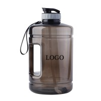 130oz Sport Water Bottle With Handle And Straw  WPJC9004