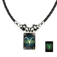 Necklace With Glow In Dark Pendant WPJC9012