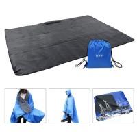 210T Ripstop Polyester 2000pu Waterproof Hooded Camping Blanket WPJC9013