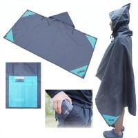 Folded Blanket Poncho WPJC9015