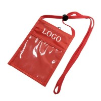 Non-Woven Trade Show Badge Holder & Neck Wallet WPJC9020
