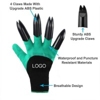 Silicone Garden Digging Gloves Tools WPJC9056