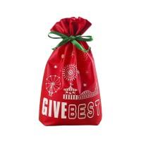 Non-woven Gift Drawstring Bags 10″ x 14″ WPJC9058