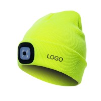 LED Beanie Hat with Light  WPJC9059