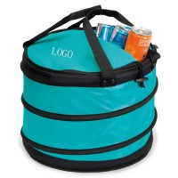 28 cans soft-sided collapsible cooler bag WPJL7017