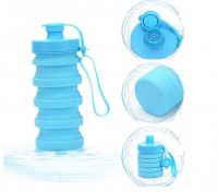 Collapsible Folding Silicone Water Bottle WPJL8030