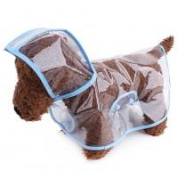 Transparent Rain Coat for Small Dogs WPJL8057