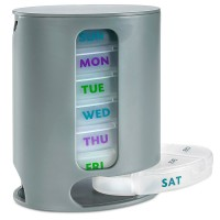 7 Day Pill Box Organizer WPJL8063