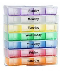 7 Day 4 Times a Day Pill Box Organizer WPJL8069