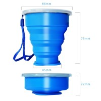 Silicone Collapsible Travel Cup WPJL8074
