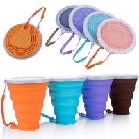 Ultrathin Silicone Collapsible Travel Cup WPJL8075