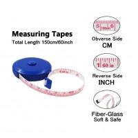 60-Inch 1.5 Meter Soft Retractable Measuring Tape WPJL8079