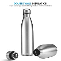 Double-Wall Insulated Stainless Steel Water Bottles WPJL8096