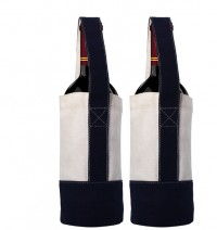 Cotton Canvas Wine Tote Bags WPJL8107