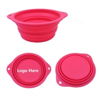 Large Collapsible Silicone Dog Bowl  WPJZ027
