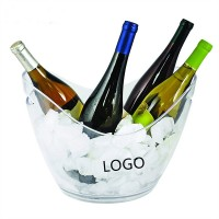 140 Oz Oval Ice Bucket  WPJZ044