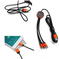 3 in 1 USB Charging Cable   WPJZ052