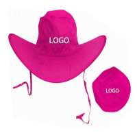 Polyester Folding Cowboy Hat WPKW104