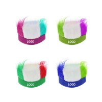 Colorful Fan Wig For Sports And Festivals WPKW134