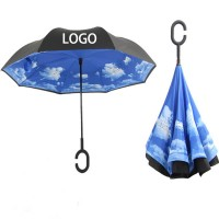 An Inverted Umbrella for Driving Use Tarpaulin WPKW8001