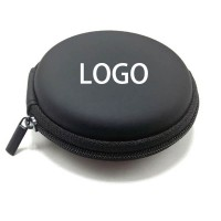EVA Round Earbuds Accessory Zipper Box WPKW8009