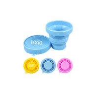 Collapsible Travel Cup – 100% Food-grade Silicone WPKW8027