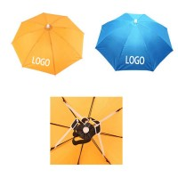 Large Umbrella Hat Hands Free with Head Strap WPKW8051