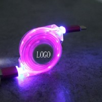 LED Retractable Charging Cable WPLL031