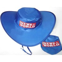 Folding Cowboy Hat / Foldable Hat with Pouch WPLS096