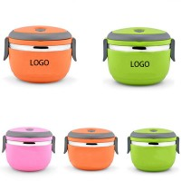 Round Insulated Lunch Box Food Container WPLS8016