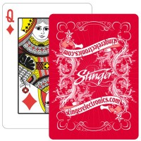 Design Poker Playing Cards – 1 Color WPLS8026
