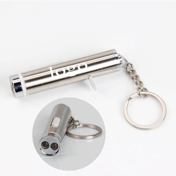 Stainless-Steel Flashlight Keychain WPSL8015