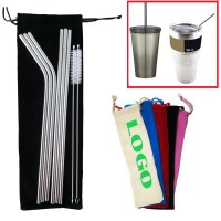 8 Pices Stainless Steel Drinking Straw For 30 OZ Tumble WPZL150